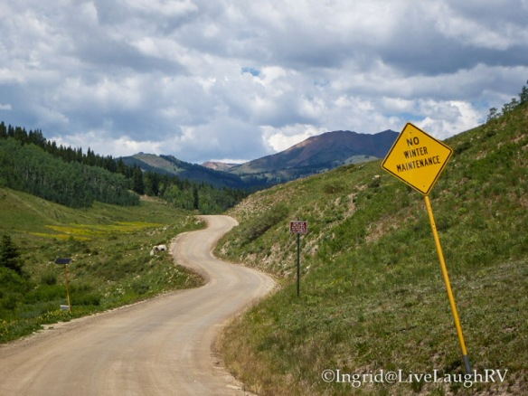 Slate River Road Crested Butte Colorado
