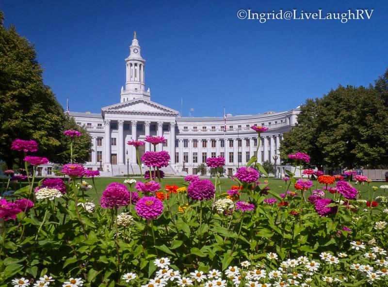 flower gardens in Denver Colorado