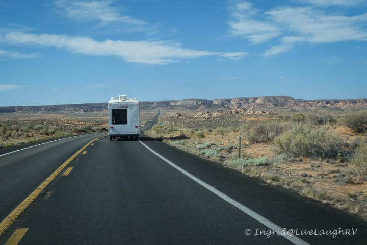 highway 89 in northern Arizona