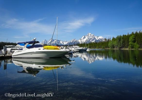 Jackson Lake Grand Tetons Wyoming