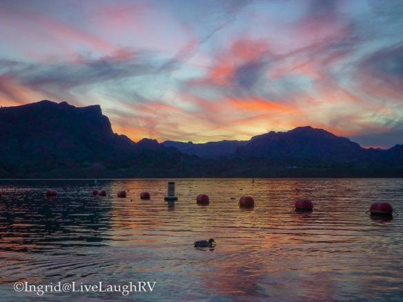 Lake Havasu Arizona sunset