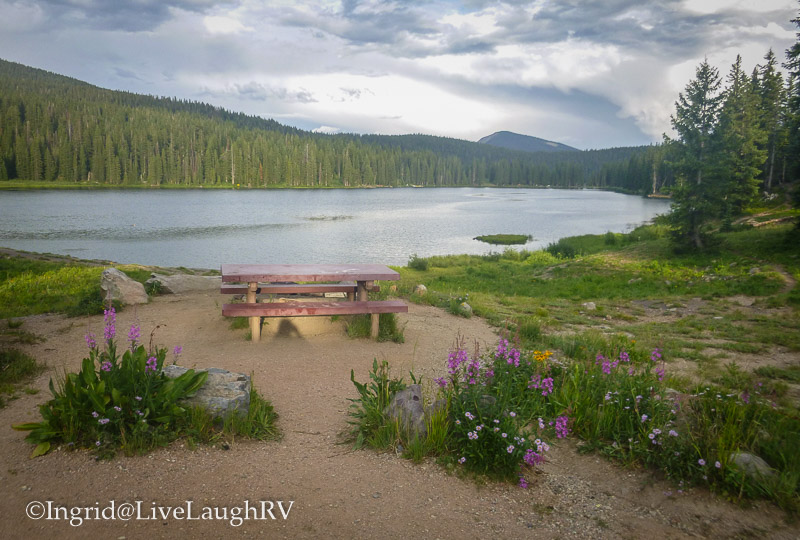 Lake Irwin Campground Colorado Crested Butte Keebler Pass