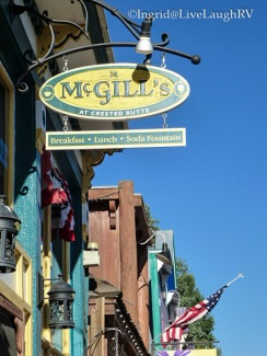 McGill's Crested Butte, Colorado for great breakfast and coffee