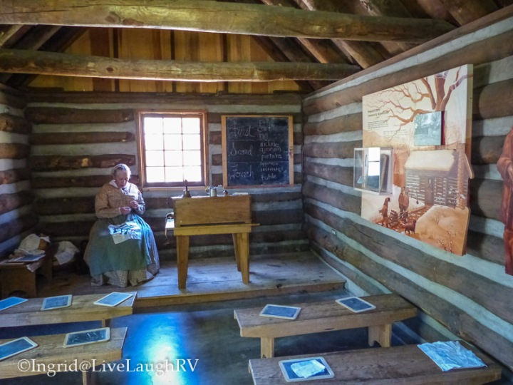 school house Sharlott Hall Museum Prescott Arizona