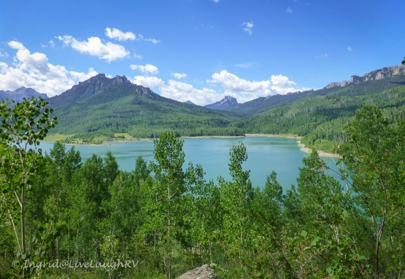 Silver Jack Lake near Ridgway Colorado