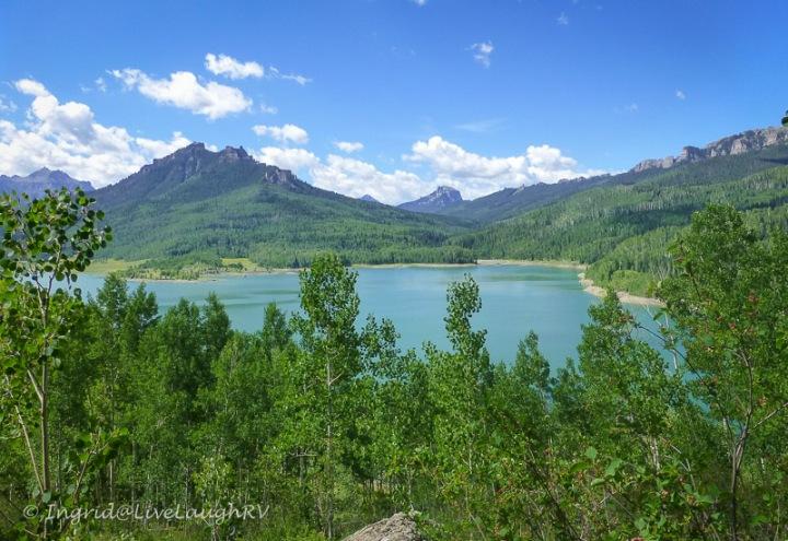 Silver Jack Lake near Ridgway Colorado