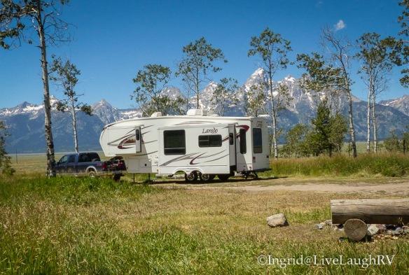 RVing Grand Tetons National Park