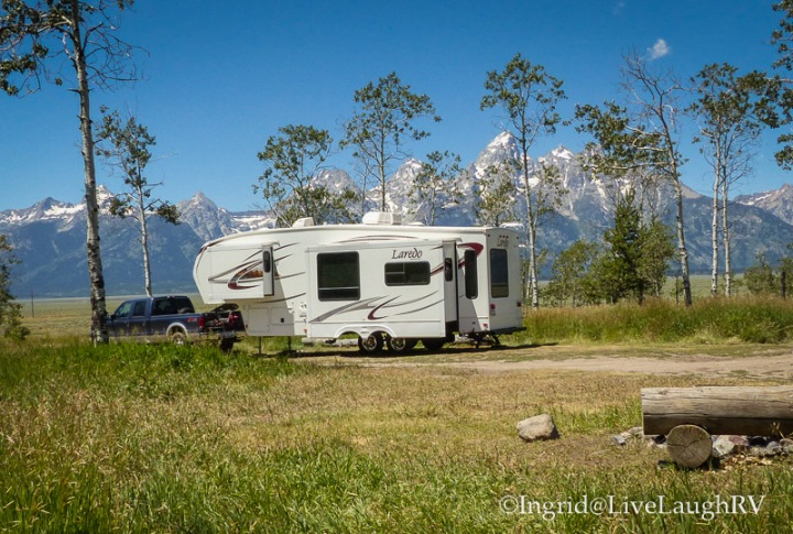 RVing Grand Tetons National Park