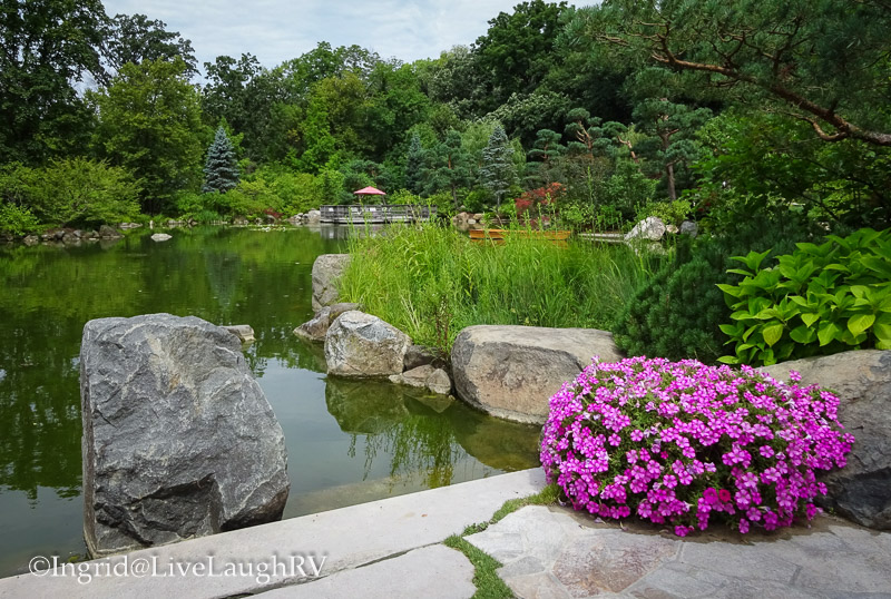 Japanese Garden in Rockford, Illinois