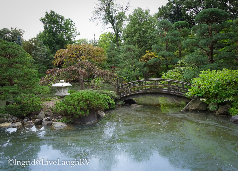 Japanese Garden In Rockford Illinois