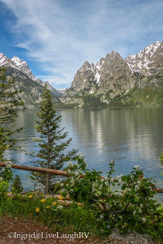 Jenny Lake Grand Tetons National Park Wyoming