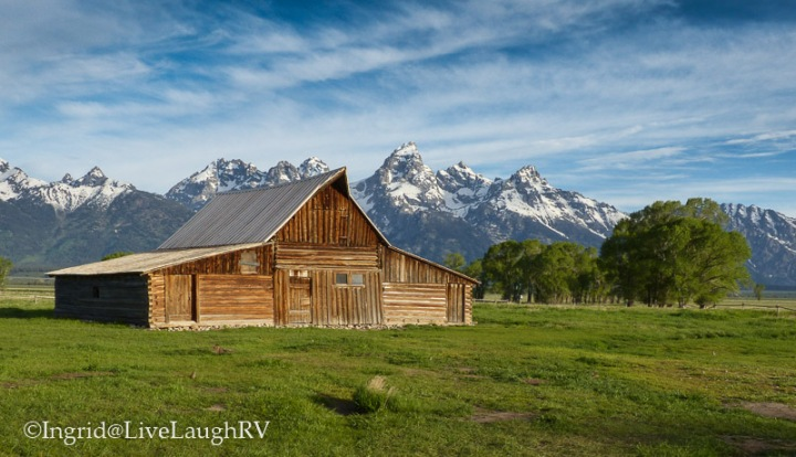 Mormon Barn Grand Tetons National Park Wyoming