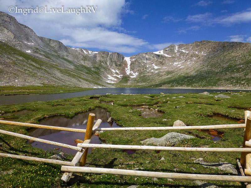 Summit Lake Mt. Evans Colorado