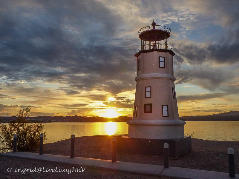 Split Rock Lighthouse Lake Havasu Arizona