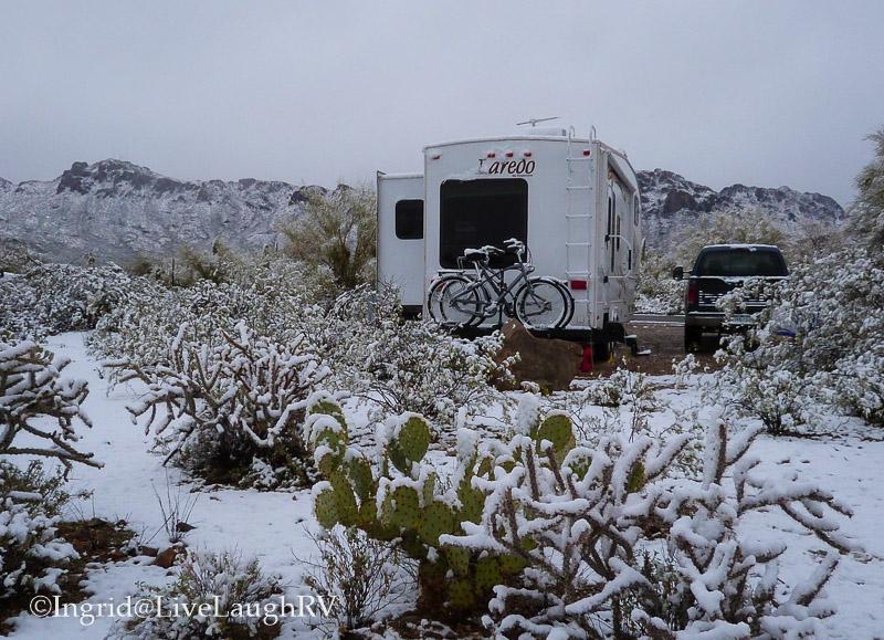 camping in Tucson Arizona
