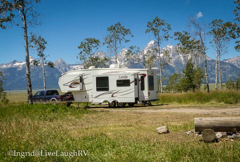RVing in Grand Tetons National Park