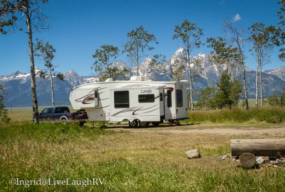 RVing in Grand Tetons National Park