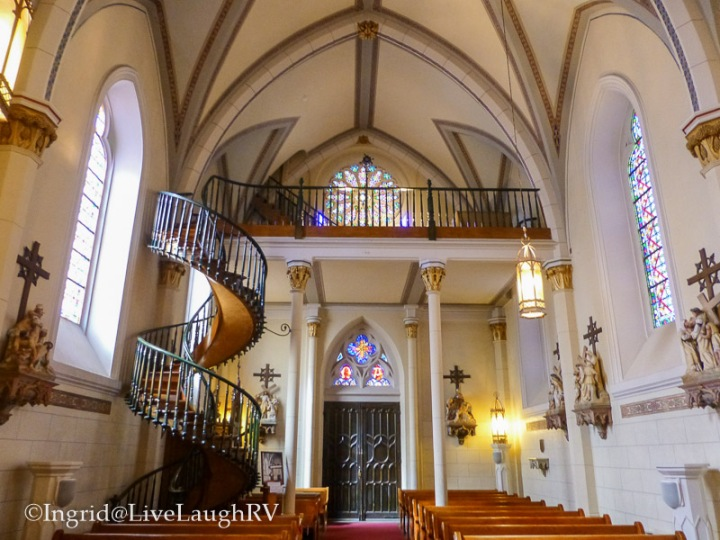 Loretto Chapel Santa Fe New Mexico