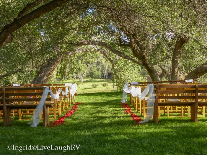 Wedding venue Van Dickson Ranch, Skull Valley Arizona
