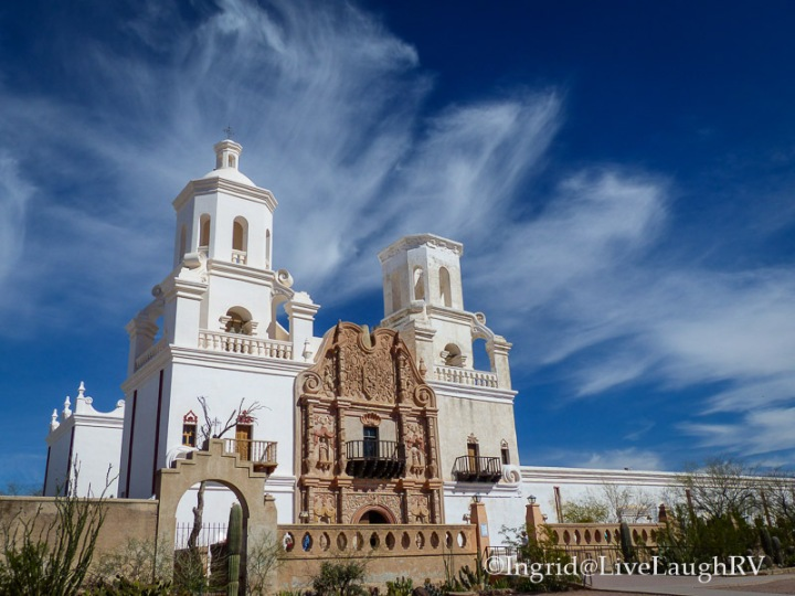 Mission San Xavier, Tucson, Arizona