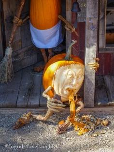 a drunk pumpkin