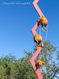 Rock climbing pumpkins