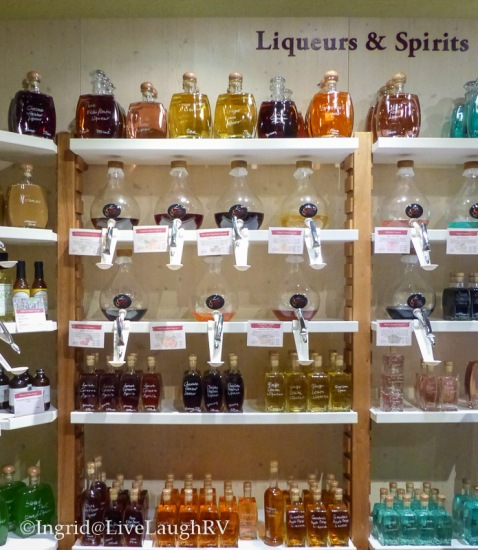 Spirits & Spice - just a sample of their amazing products