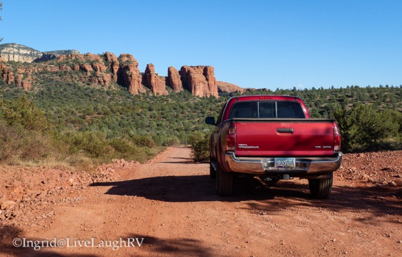 back country near Sedona Arizona