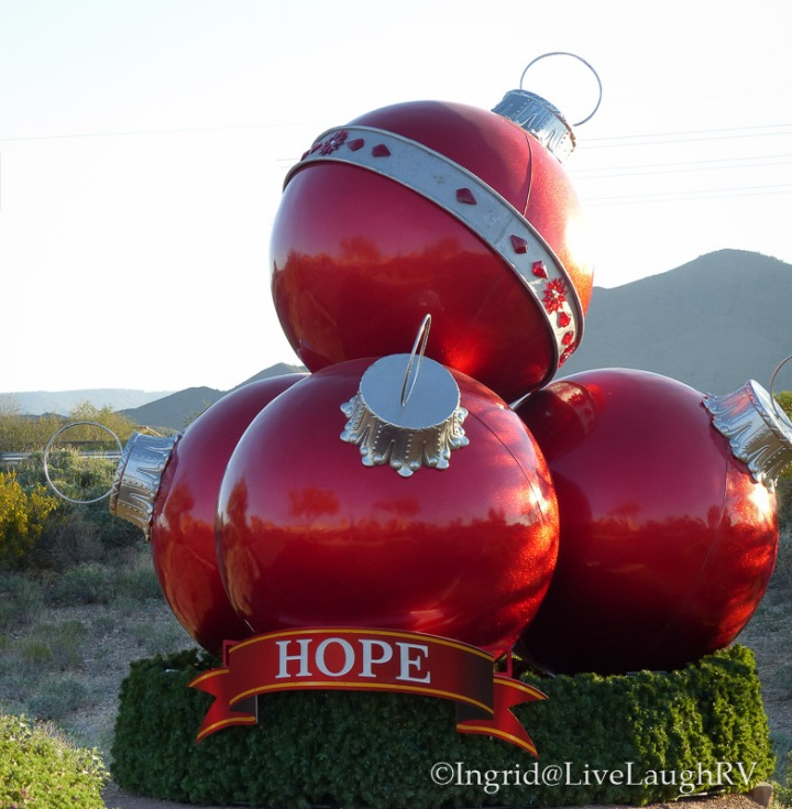 Big ball holiday decor