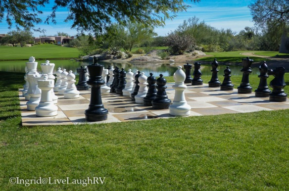 game of life via chess