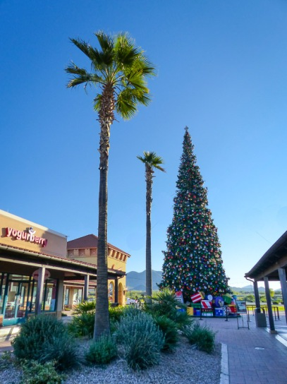 tallest Christmas tree in Arizona