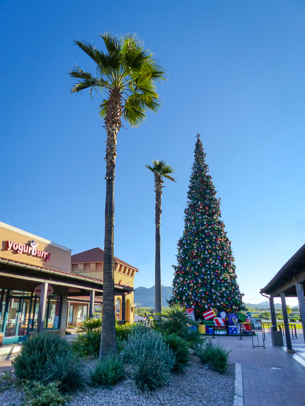 tallest Christmas tree in Arizona