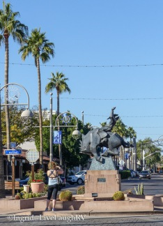 sculptures in Scottsdale Arizona