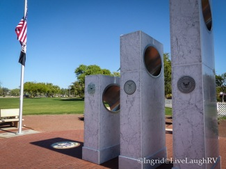 Veterans Memorial in Anthem Arizona