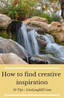 How to find creative inspiration