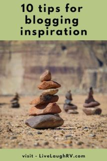 10 tips for finding blog ideas. How to find creative inspiration.