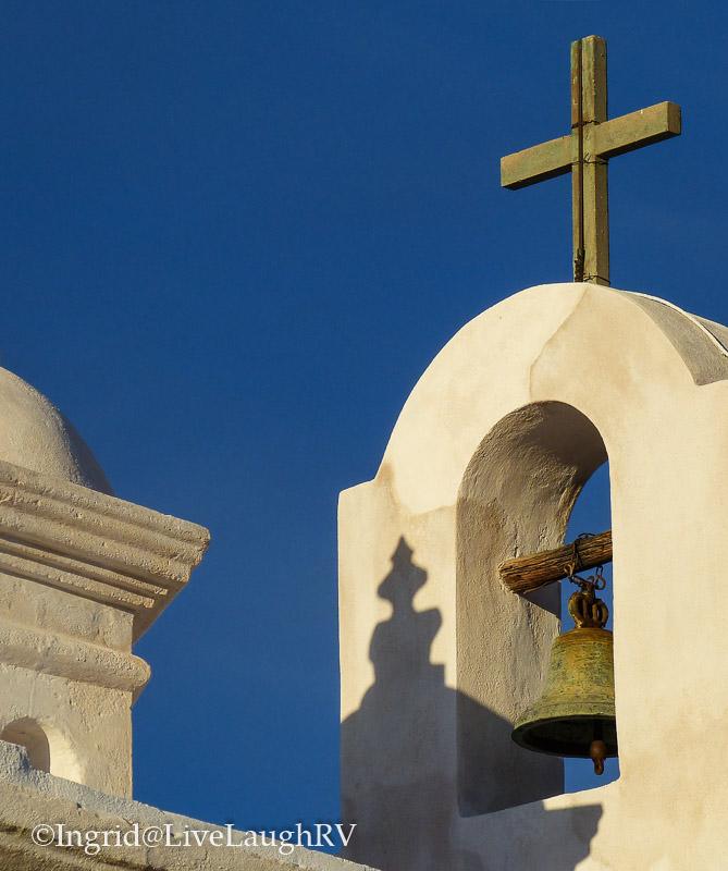 Missions in Tucson, Arizona. Mission San Xavier.