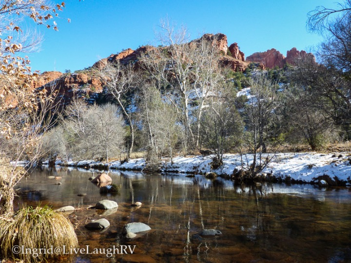 winter in Sedona Arizona
