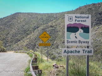 The Apache Trail, Phoenix, Arizona