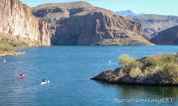 Canyon Lake, Phoenix, Arizona, kayaking in Phoenix