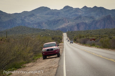 Bush Highway, Phoenix, Arizona