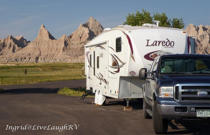 South Dakota badlands, summer road trip, RVing in South Dakota
