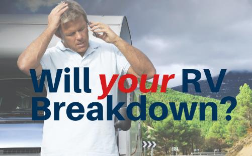 RV warranty, Will your RV break down, do RV's breakdown, RV repairs