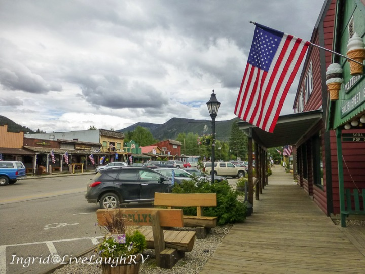 Main Street in Grand Lake, Colorado