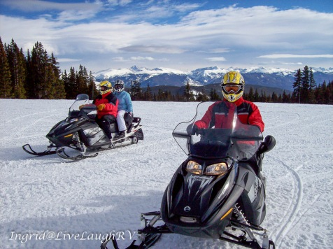 snowmobiling in Colorado, #snowmobilecontinentaldivide