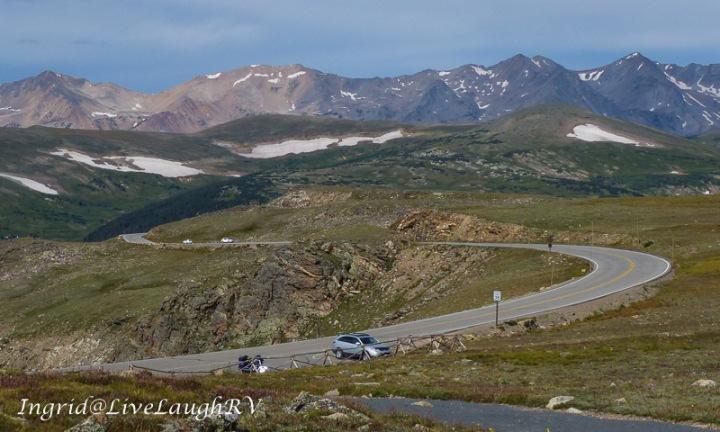 trail ridge road Colorado, Roads above treeline, Rocky Mountain National Park, #can I drive an RV, #coloradoroads