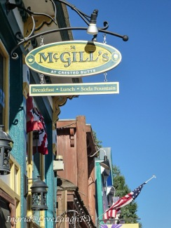 McGill's Restaurant in Crested Butte, Colorado, best coffee in Colorado