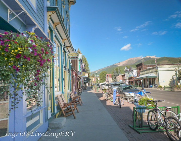downtown Crested Butte, Colorado, Colorado's wildflower capital