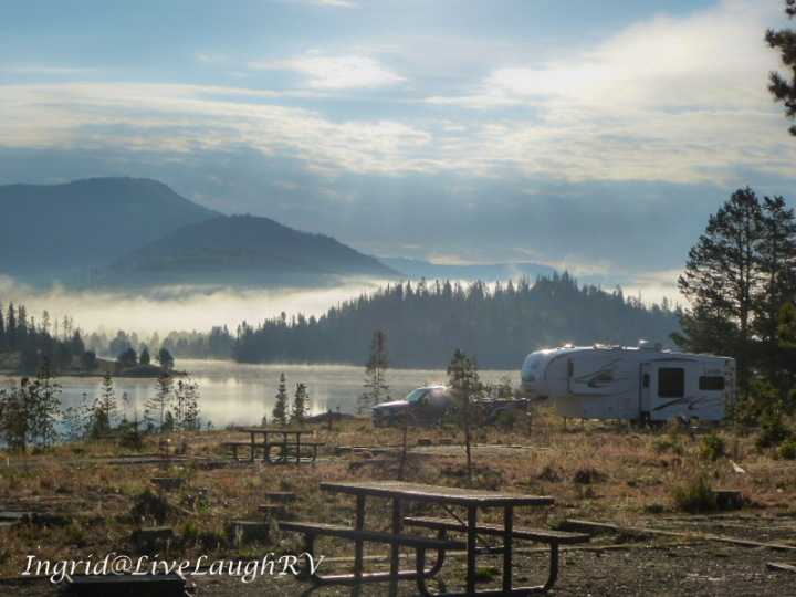 camping at Steamboat Lake, Colorado, #Coloradodreaming #RVingColorado #Steamboatliving