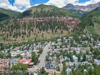 A view of Telluride from the Gondola, #Colorado Gondolas